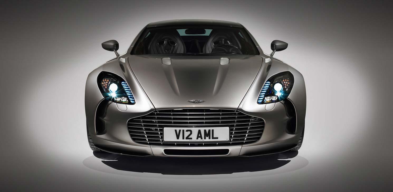 Der Aston Martin One 77