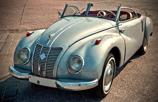 Ob dieser Oldtimer zu den teuersten Autos der Welt gehört, ist frraglich.