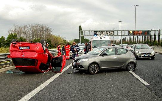reagieren bei einem unfall