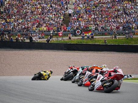 motorrad grand prix auf dem sachsenring
