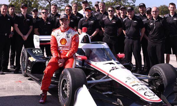 IndyCar Series - Rennteam mit McLaughlin