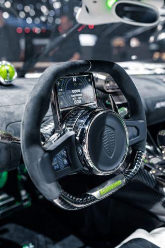 Koenigsegg Jesko Absolut kmh Rekord - Lenkrad