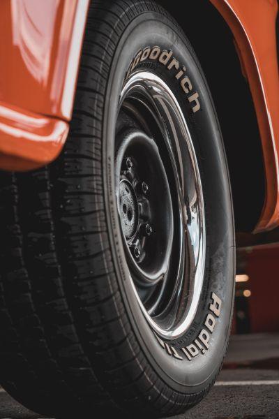 Welche Reifen-Elemente haben welche Funktion - Reifen auf der Felge