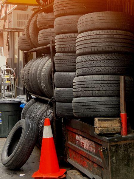Welche Reifen-Elemente haben welche Funktion - Verschiedene Reifen