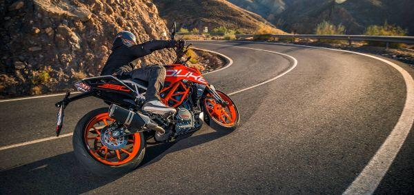 5 Motorräder für den gestandenen Mann - KTM 390 Duke