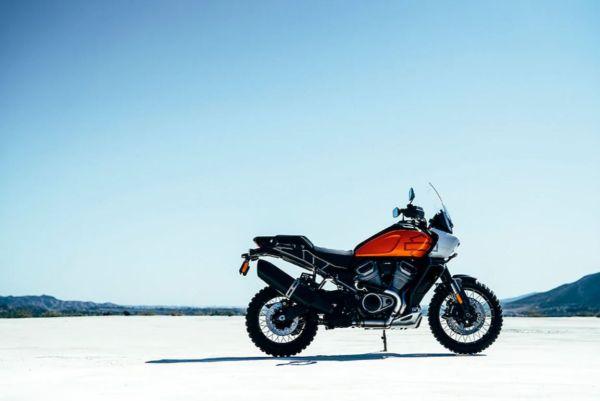 5 Motorräder für den gestandenen Mann - Pan America