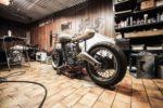 Gute Motorrad-Arbeiten während man nicht fährt - Beitrag