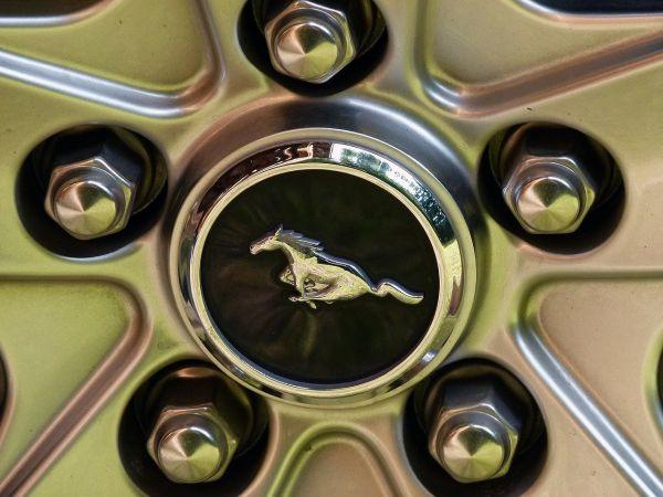Mustang-Felgen Close Up