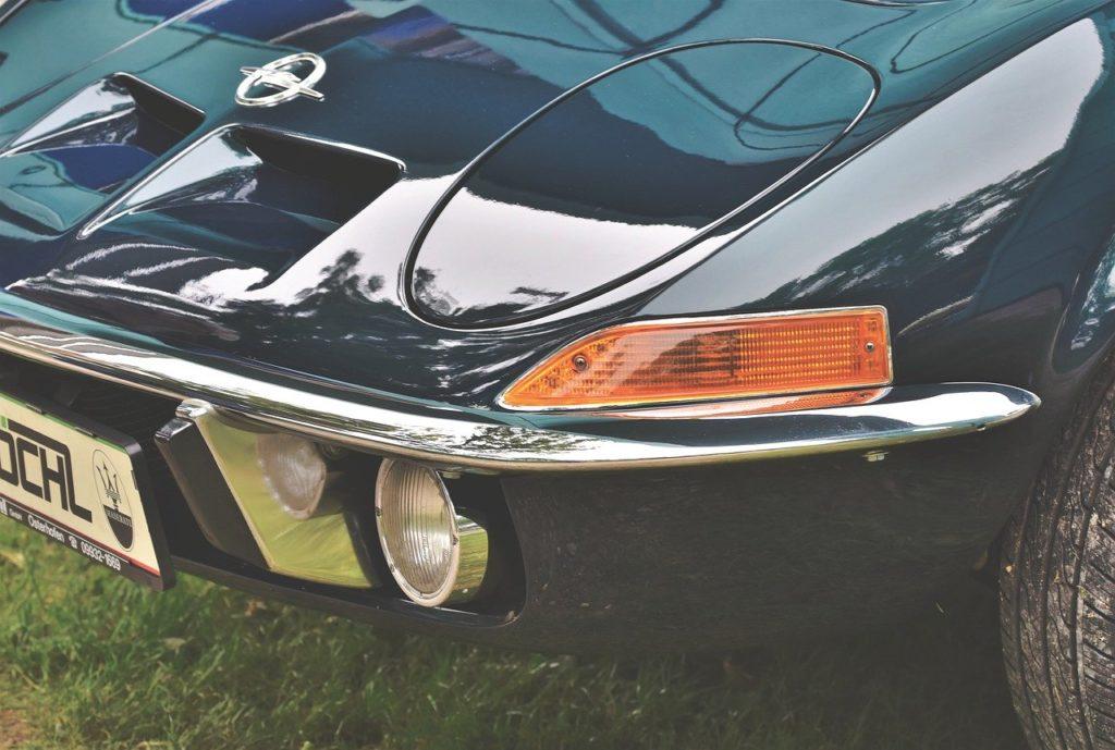 Detail der Baby Corvette