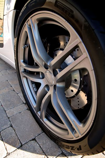Close Up für den Reifen