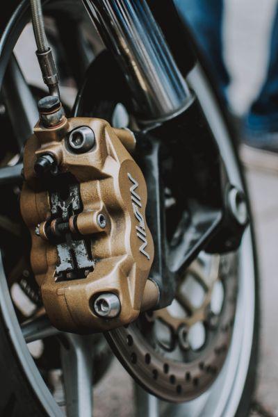 Bremsen vom Motorrad