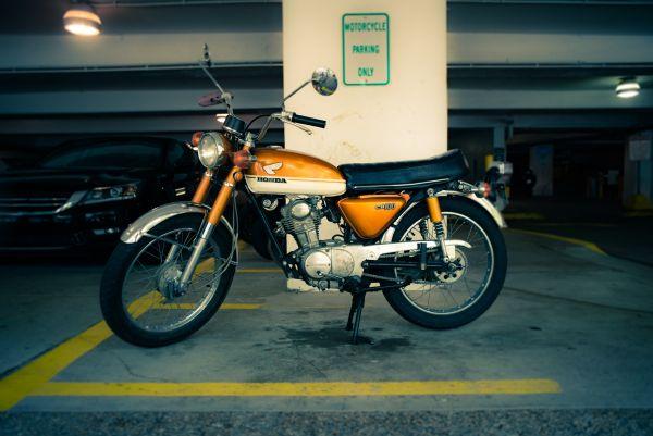 Ein ganzes Moped