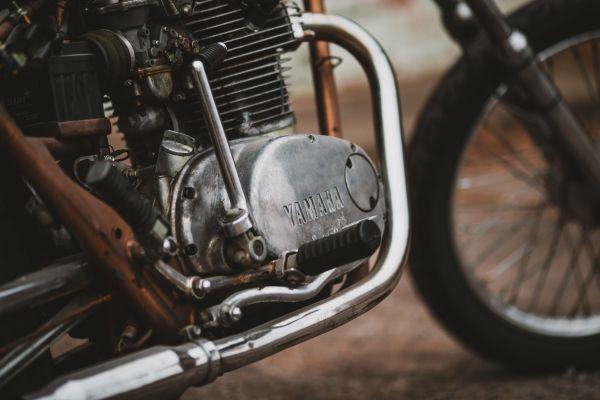 Woraus besteht ein Motorrad - Motor