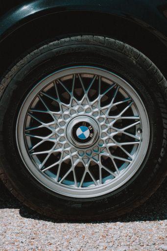 Reifen in der Seitenansicht