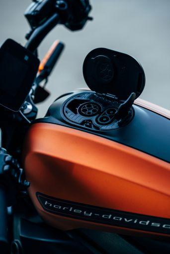 Hat der Trend zum Elektro Motorrad Bestand - Der Tank des E Motorrads