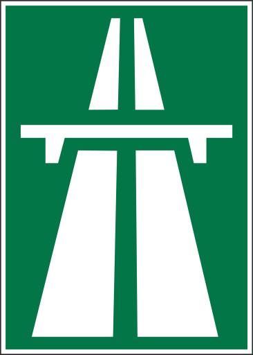 Via Sicura - Autobahnzeichen