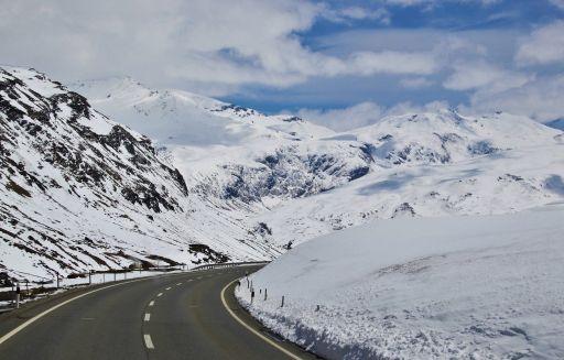Via Sicura - Strasse in den Bergen